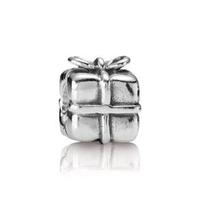 Pandora | Retired Sterling Silver Present Charm
